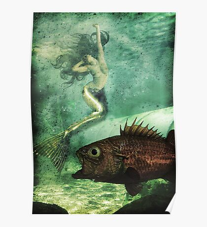 When mermaids cry Poster