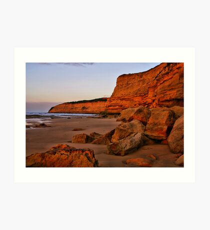 """Dawn at Bird Rock"" Art Print"