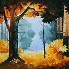 PINE WOOD limited edition giclee of L.AFREMOV painting by LeonidAfremov