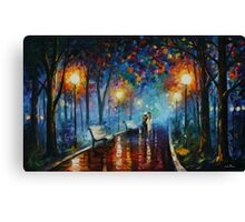 MISTY MOOD limited edition giclee of L.AFREMOV painting Canvas Print