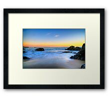 Elephant Rock Framed Print