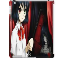 Misaki mei another anime iPad Case/Skin
