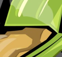 green cqb Sticker