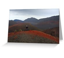 Hiking Volcanoes Greeting Card