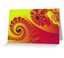 Floral Evolution 003.20.5xp.g4-280 Greeting Card