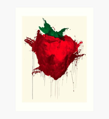 Strawberry from Across the universe Art Print