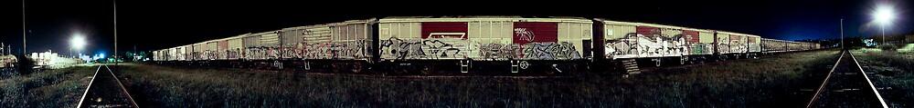 Trainyard Panorama by demistified