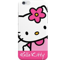 Hello Kitty Cute Design Pink  iPhone Case/Skin