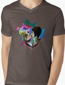 Across the Universe - Strawberry Kiss Mens V-Neck T-Shirt