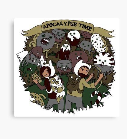 Apocalypse Time! Canvas Print