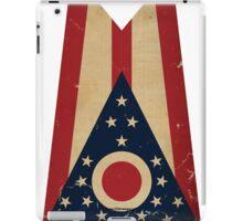 Ohio State Flag VINTAGE iPad Case/Skin