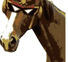 Captain Falcon Horse by cangurojoe