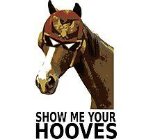 Captain Falcon Horse Photographic Print