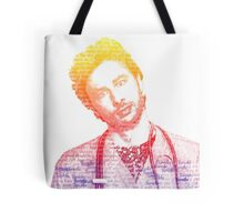 JD Quote Rainbow Tote Bag