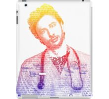 JD Quote Rainbow iPad Case/Skin