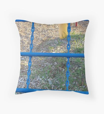 Vertical chains Throw Pillow