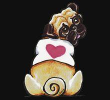 Sweetie Pug One Piece - Short Sleeve