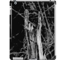 Heavy metal tree trunk iPad Case/Skin