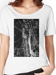 Heavy metal tree trunk Women's Relaxed Fit T-Shirt