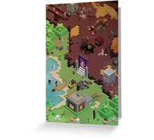 Minecraft - Exploring New Worlds Greeting Card