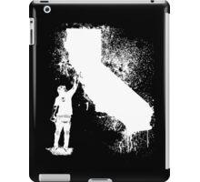 California Wall tagger white iPad Case/Skin