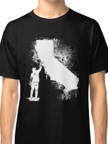 California Wall tagger white Classic T-Shirt