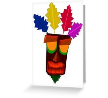 Aku Aku Remastered Greeting Card