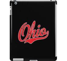 Ohio Script VINTAGE Red iPad Case/Skin