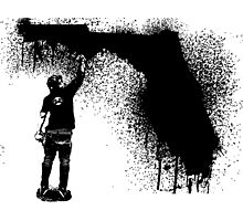 Florida Tagger Photographic Print