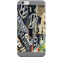 VW Emblemes Colection iPhone Case/Skin