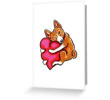 Basenji Love Greeting Card