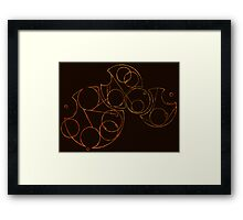 Gallifrey Falls No More Framed Print