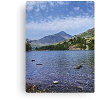 Lake HDR Canvas Print