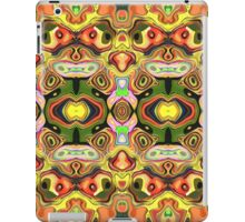 Faces In Abstract Shapes 6 iPad Case/Skin