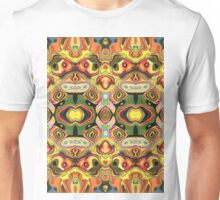 Faces In Abstract Shapes 6 Unisex T-Shirt