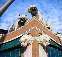 Comerica Park--Home of the Detroit Tigers by JKStanford