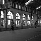Railway Platform by barkha