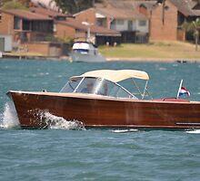 Wooden Boat @ Catalina Festival, Australia 2013 by muz2142