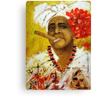 The Santeria Woman Canvas Print