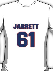 National football player Jarrett Crittenton jersey 61 T-Shirt