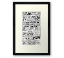 You're a wizard, Harry - Full Version Framed Print