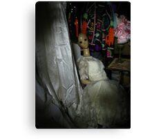 Mannequin Bride Canvas Print