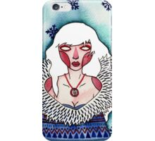 Snow Lady iPhone Case/Skin