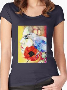 Opiate Women's Fitted Scoop T-Shirt