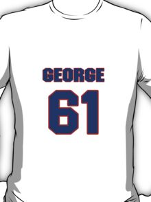 National football player George Ratterman jersey 61 T-Shirt