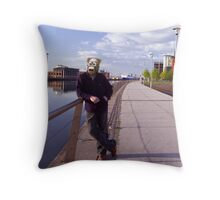 just having a laugh ... x Throw Pillow