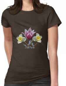 Spring Collage ~ T Womens Fitted T-Shirt