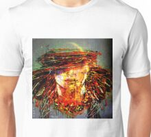 The imagination is more important than the knowledge. Unisex T-Shirt