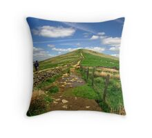 Approaching Lose Hill Throw Pillow