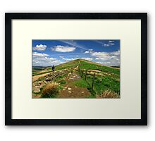 Approaching Lose Hill Framed Print